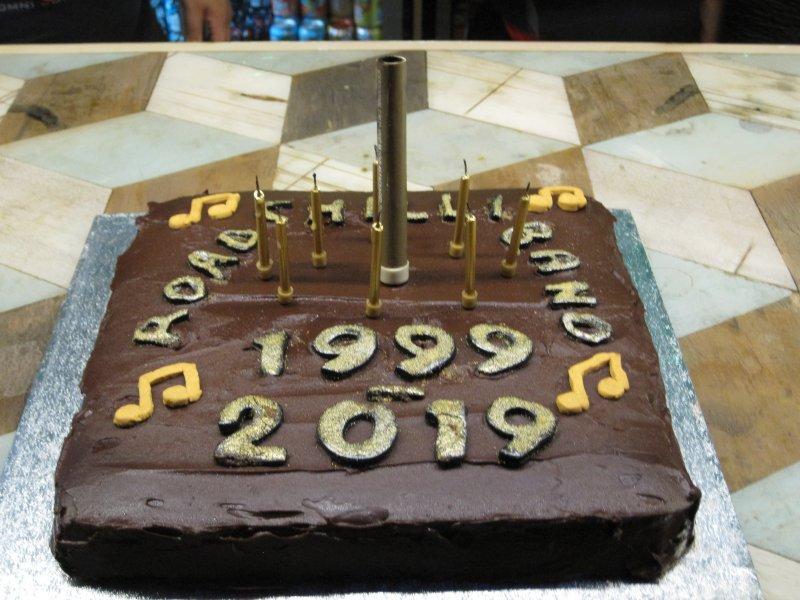 2019 Birthday cake